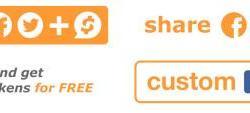 沙皮Sharpay(S)带区块链利润的分享按钮